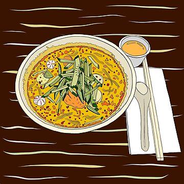 Singapore Laksa Noodle by m-lapino