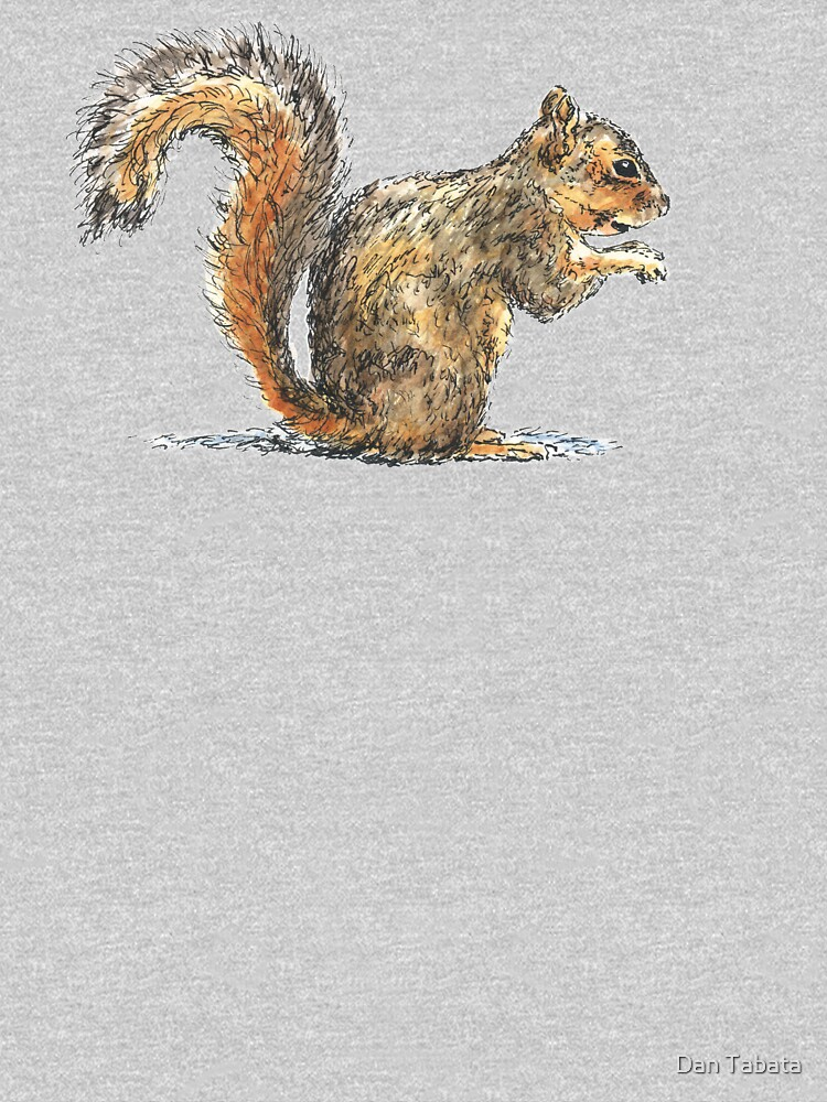 Sitting Squirrel by dmtab