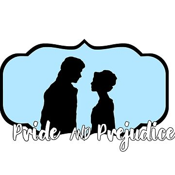 pride and prejudice elizbeth and darcy logo by claireheil014