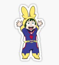 Lil' Deku! Glossy Sticker