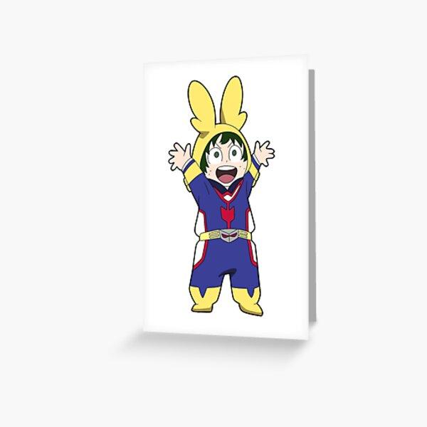 Lil' Deku! Greeting Card