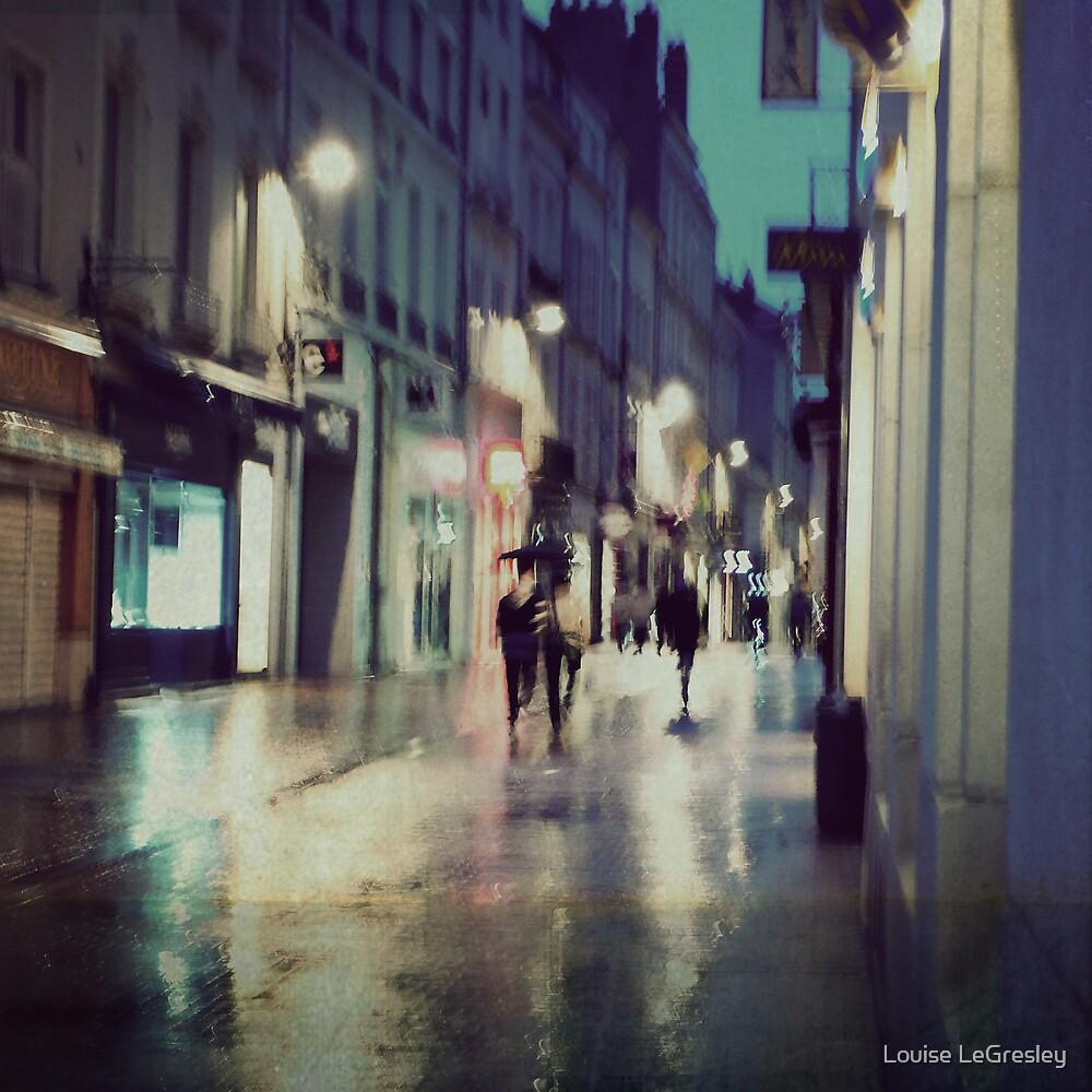 _ evening rain _ by Louise LeGresley