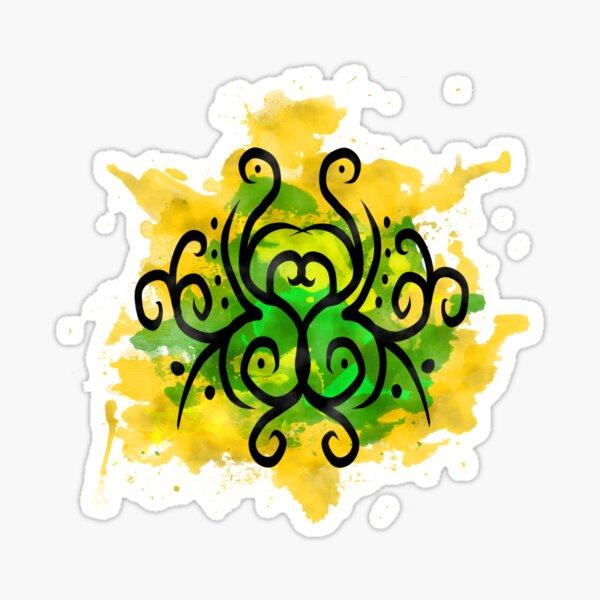 Sigil for wealth, fortune, and abundance Sticker