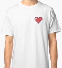 Minecraft Pixel Heart Design Classic T-Shirt