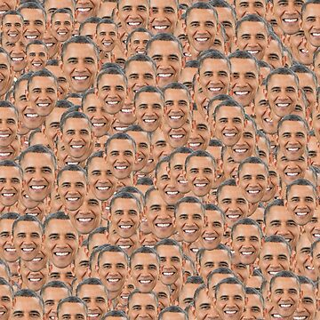 Barack Obama Collage by lurchmerch