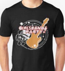 BanGDream Mädchenparty Weiß Logo Unisex T-Shirt