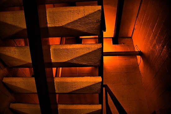 The Stairway To Hell by John  De Bord Photography