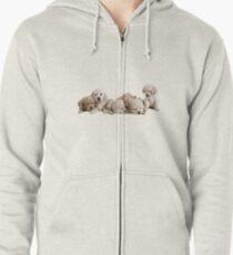 Puppies Zipped Hoodie