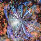 Oort Cloud - Digital Abstract Expressionism by Ryan Livingston