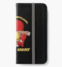 Official Napping Shirt - Lazy Sloth iPhone Wallet/Case/Skin