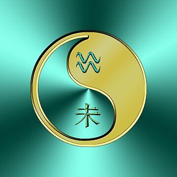 Aquarius & Goat Yin Metal by astrodesigner75