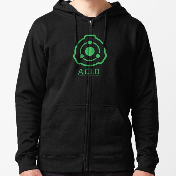 A.C.I.D. Logo Zipped Hoodie