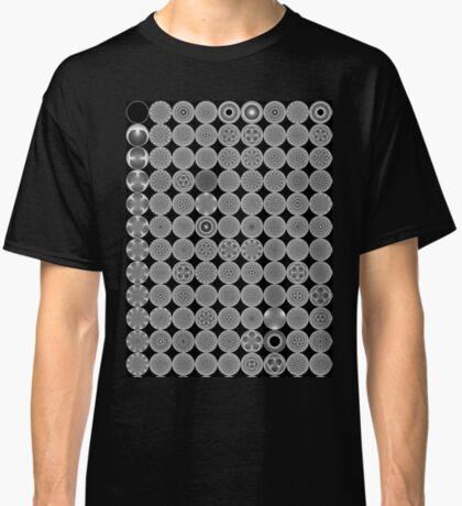 Modulo Cardiod grid Classic T-Shirt