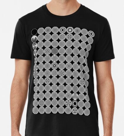 Modulo Cardiod grid Premium T-Shirt