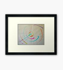"""Asteroid"" Framed Print"