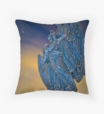 ...the stars fell like tears from heaven... Throw Pillow