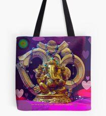 Ananda at OM Tote Bag