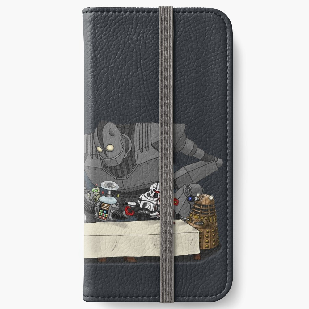 Robots Don't Need to Eat iPhone Wallet