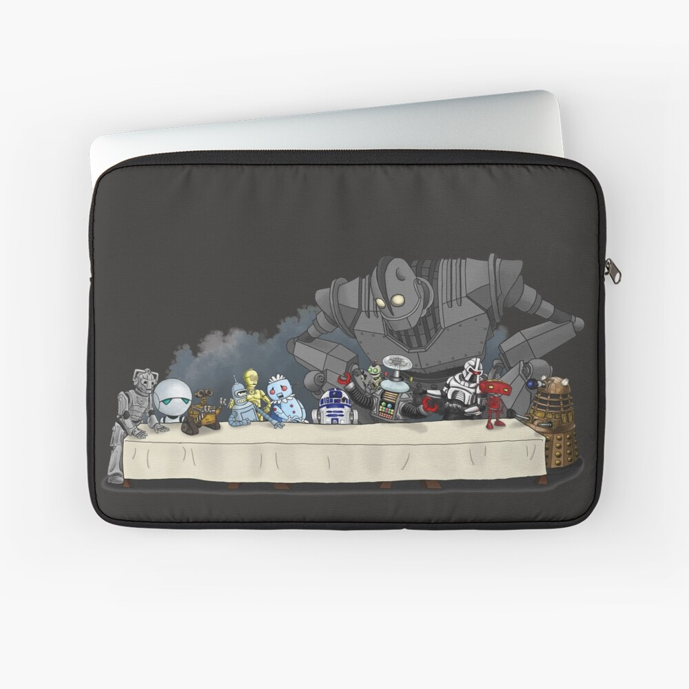 Robots Don't Need to Eat Laptop Sleeve