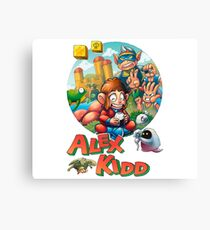 Alex Kidd in a Miracle World Canvas Print
