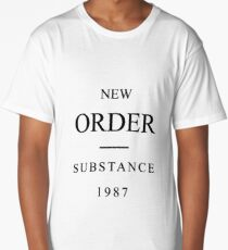 New Order | Substance | 1987 Long T-Shirt