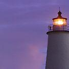 Ocracoke Light at Dawn by Kenneth Keifer