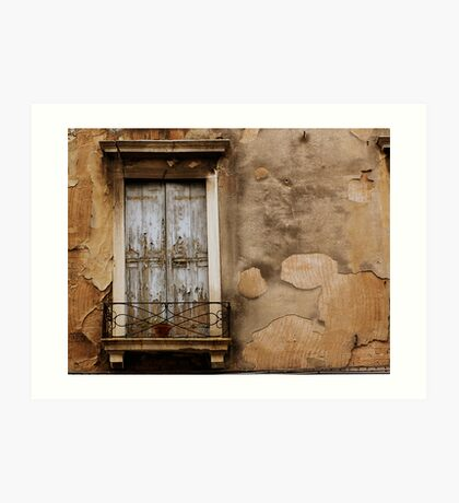 Venetian Window Art Print