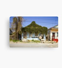 New Orleans after Hurricane Katrina Canvas Print