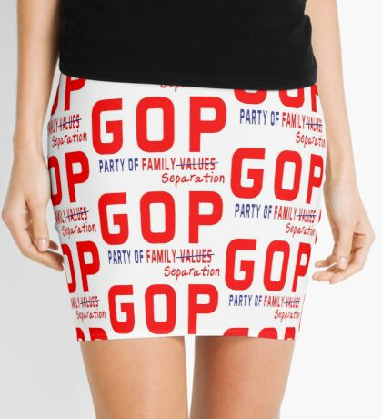 GOP Party of Family Separation Mini Skirt