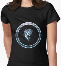 Fishing Logo Women's Fitted T-Shirt