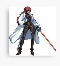Persona 4 Arena - Mitsuru Kirijo Canvas Print