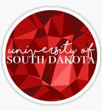 University of South Dakota Sticker