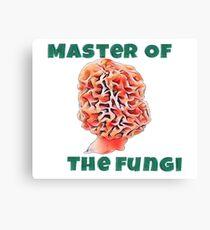Master Of The Fungi Canvas Print