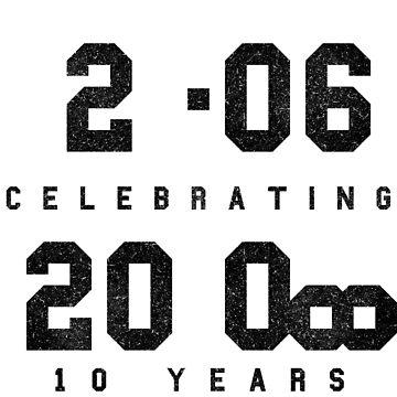 10 Year Anniversary CAD fan shirt by TalenLee