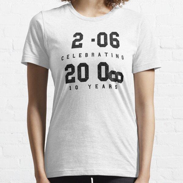 10 Year Anniversary CAD fan shirt - Black text Essential T-Shirt