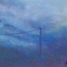 Misty Morning (pastel) by Niki Hilsabeck