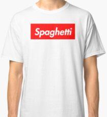 Spaghetti Supreme Parody  Classic T-Shirt