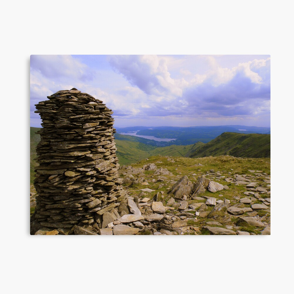 The Lake District: High Bakestones Cairn Lienzo