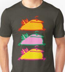 Triple Hurry Cartoon Birds T-Shirt by Cheerful Madness!! Unisex T-Shirt