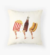 Let's All Go to the Lobby - Movie Girls Throw Pillow