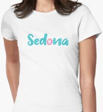 Sedona Hippie Shirt - Arizona Desert Vortex Energy Souvenir Women's Fitted T-Shirt