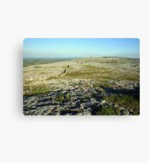 Burren landscape Canvas Print