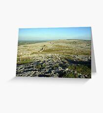 Burren landscape Greeting Card