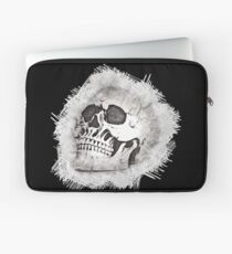 The Spooky Skull Sketch Laptop Sleeve