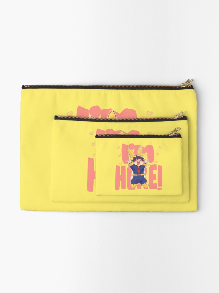 Alternate view of I'm here!!! Zipper Pouch