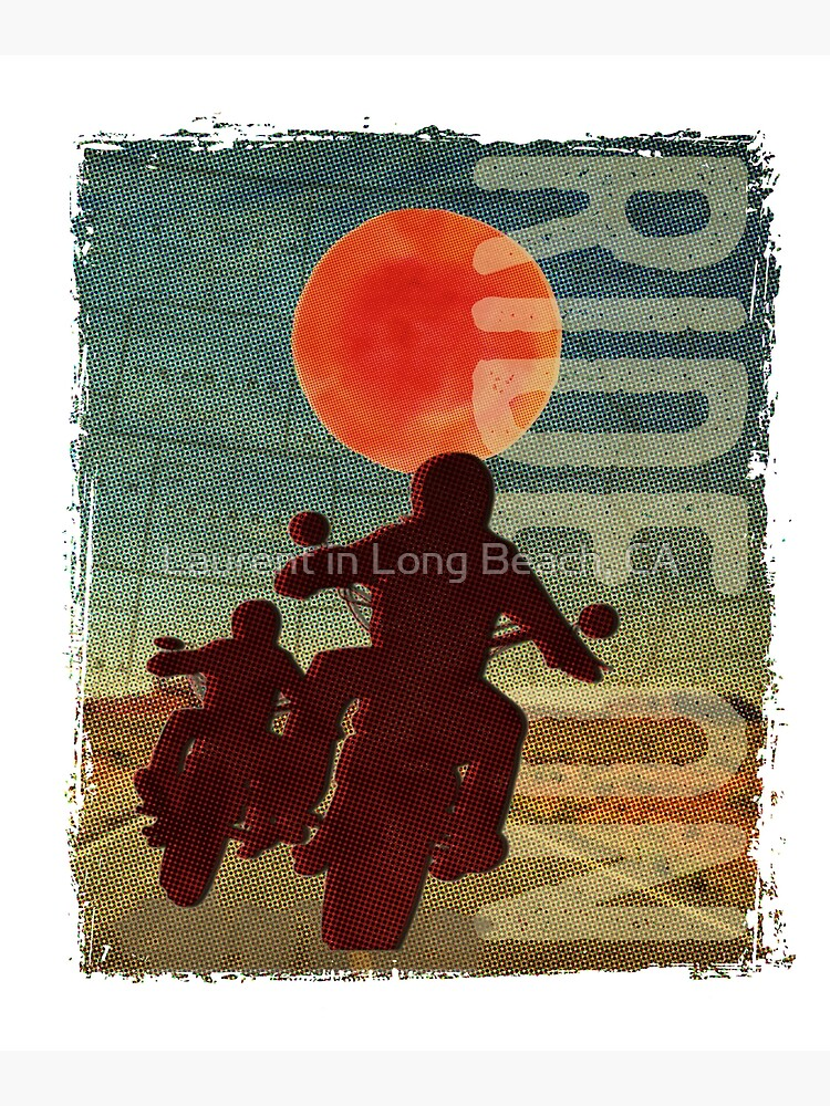 Bikers in the sunset by laurent213
