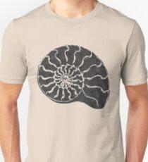 Ammonite with pattern... Unisex T-Shirt