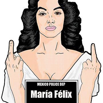 Maria Felix by rosiojh