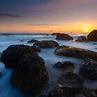 Oregon Sunset Boil by DawsonImages