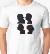 5sos silhouette 3d Unisex T-Shirt